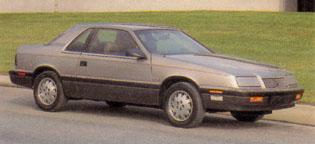 Le Baron Coupe 1988 (Etats-Unis)