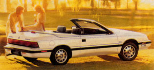 Le Baron Convertible 1988 (Etats-Unis)