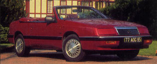 Le Baron Convertible V6 1990 (France)