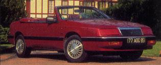 Le Baron Convertible V6 1990 (France)