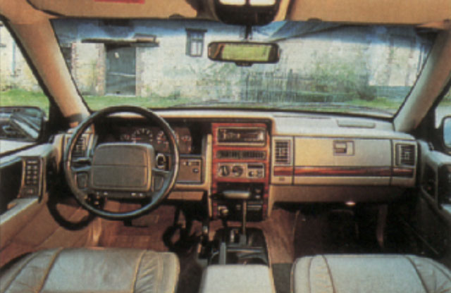 Quipement us cars for Interieur jeep grand cherokee 2000